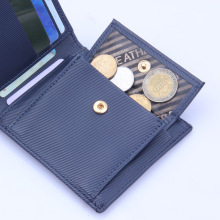 wholesale walletcredit card holder  leather for men carbon fiber wallet coin bag credit 3m
