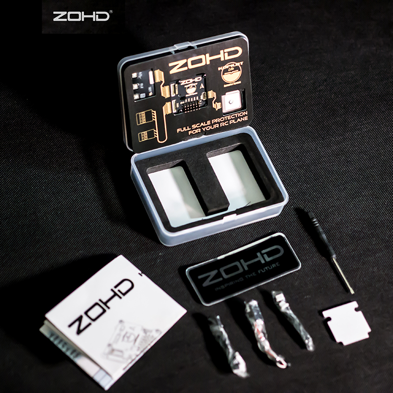 ZOHD Kopilot Lite система автопилота для фиксированного крыла RC пилотный самолет FPV и LOS включает gps регулировку центральный модуль обработки