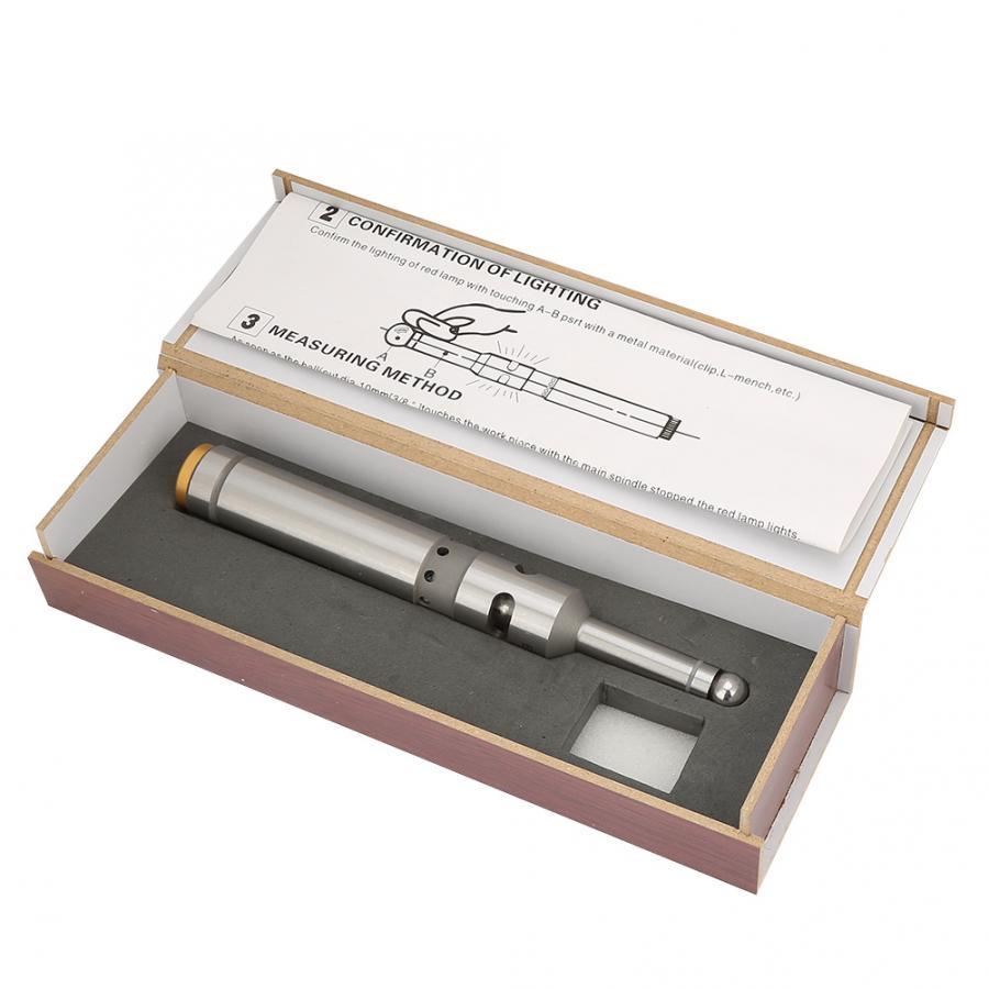 Эхолот из нержавеющей стали фотоэлектрический край Finder фрезерный токарный станок с ЧПУ центроискатель 10 мм инструменты для измерения уровня