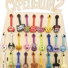 Funny joy Scrapers 2 Toys Action Magnet Whole Skrepysh 3 For Children Interesting DIY