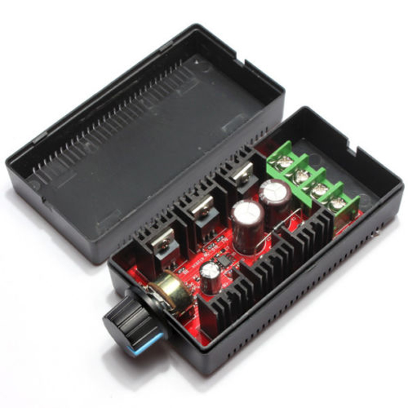 1pc <font><b>DC</b></font> <font><b>12</b></font>/24/36/50V <font><b>40A</b></font> 2000W Electronic Speeder PWM Motor Speed Governor Controller Speed Regulator Electrical Equipment Tools image