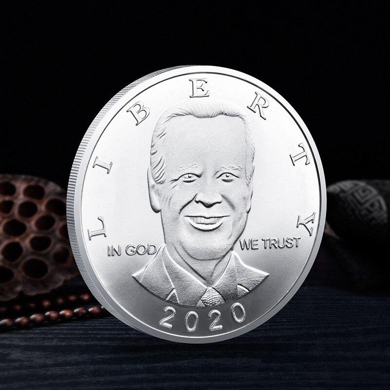 Президент Соединенных Штатов сувенир Америка монета Байден 2020 Коллекционная позолоченная Коллекция подарков памятная монета
