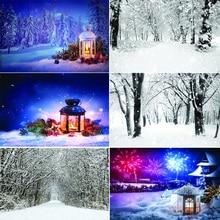 Vinyl Custom Photography Backdrops Prop  Snow scene Theme Photography Background  200509U-1 цена 2017