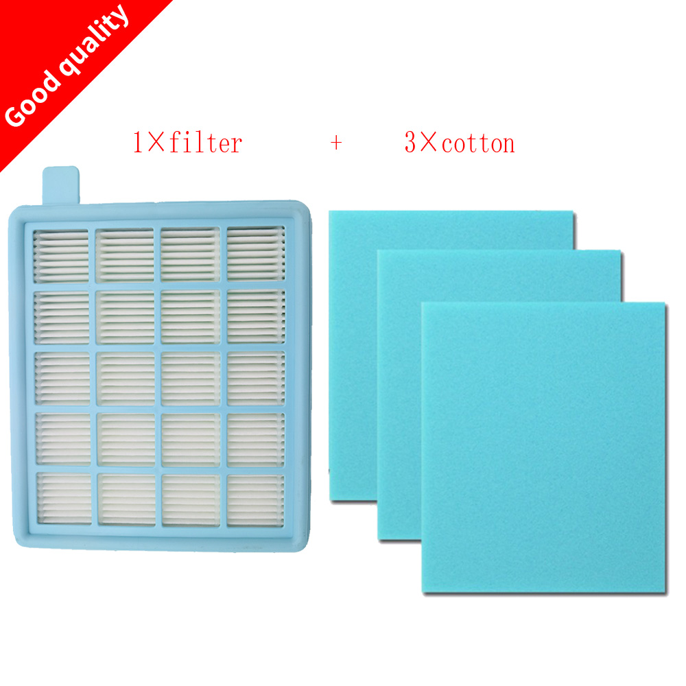 4pcs/lot Filter Mesh HEPA FILTER BUFFALO-MISTRAL For Philips Vacuum Cleaner FC8470 FC8471 FC8472 FC8473 FC8474 FC8476 FC8477