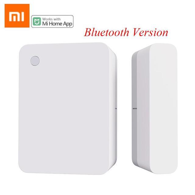 Xiaomi เซ็นเซอร์ประตูหน้าต่างขนาดกระเป๋า Xiaomi Smart Home ชุดปลุกทำงานร่วมกับ GATEWAY Mijia Mi Home APP