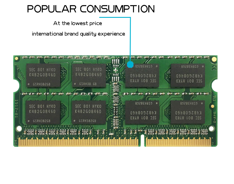 KANMEIQi DDR3 Laptop Memory With 2GB 4GB 8GB And 1333Mhz 1600MHZ 1866MHZ 14