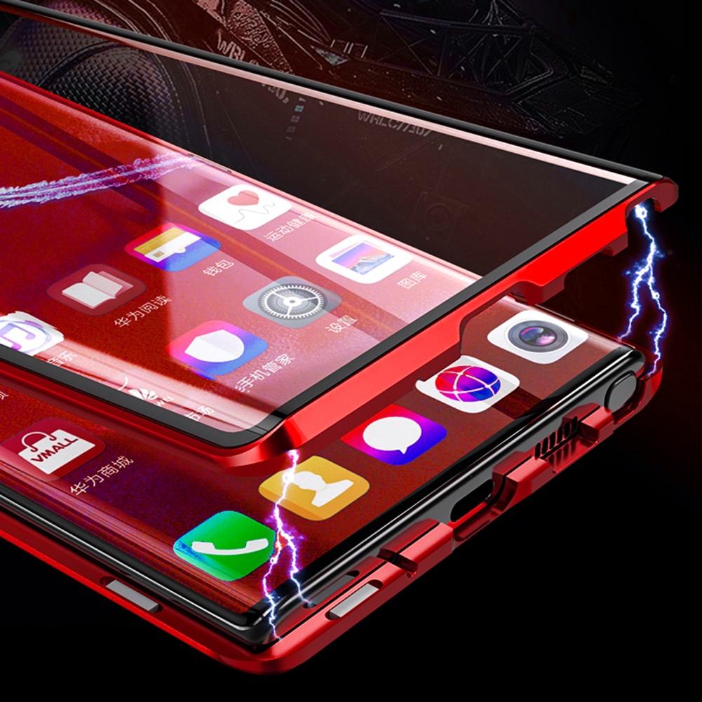 Adsorbimento magnetico Cassa Del Metallo Per Samsung Galaxy A30 A40 A50 A60 A70 A7 A8 A8 + A9 2018 S8 S9 s10 Più S10E S10-5G Copertura Del Telefono