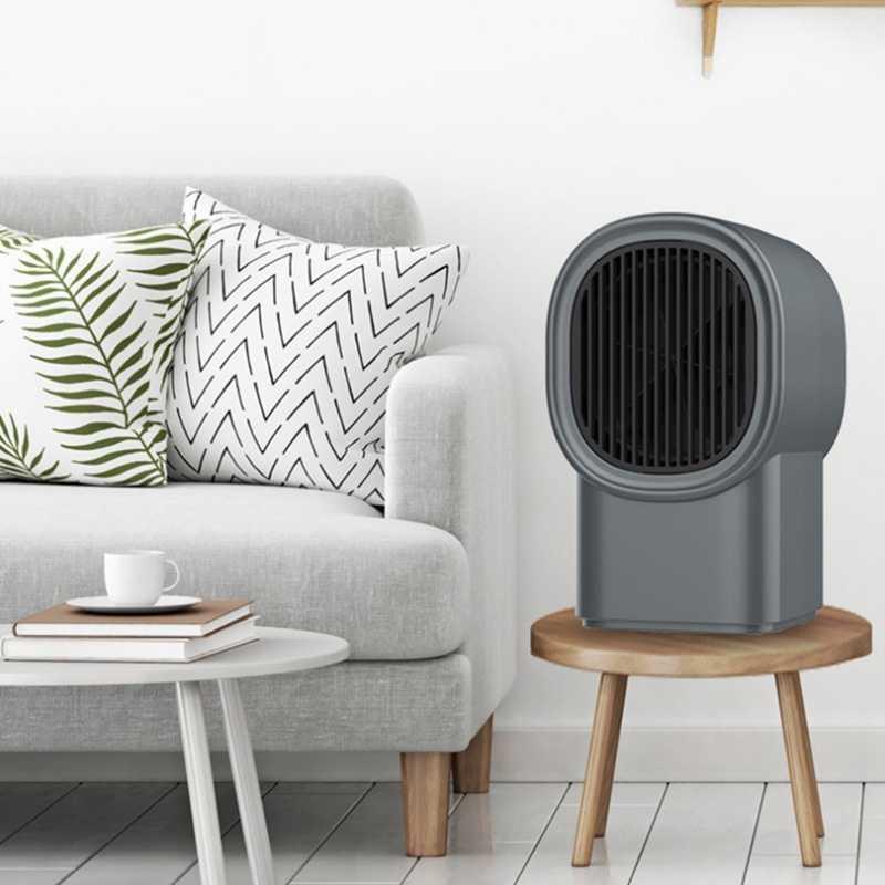 Chauffage mural électrique Mini Portable enfichable chauffe-espace personnel Thermostat réglable chauffage intérieur Camping tout endroit prise US