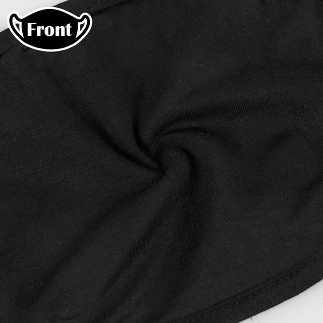 AMG Sports Car Logo Black Printing Washable Breathable Reusable Cotton Mouth Mask 1