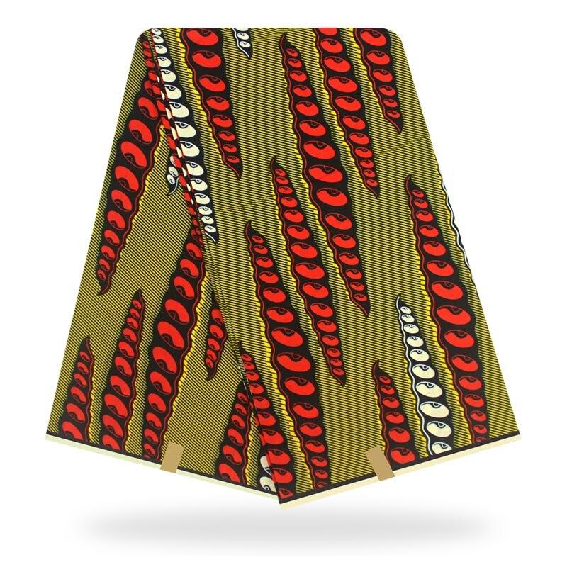 African Wax Print Fabric Ankara Fabric 6yards African Wax Prints Wholesale Polyester Wax Fabric For Dress
