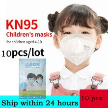 face-mask-with-filters-for-kids Ship To USA & Worldwide Non-Disposable 5 Layer Nonwoven Elastic Earloop Care kn-95maskes #65(China)