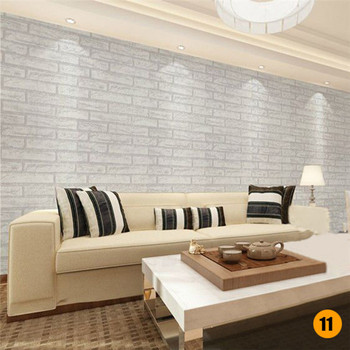 45*100cm Bricks Pattern Wall stickers Home Bedroom Decoration Environmental Protection Waterproof Vinyl Wallpaper 14