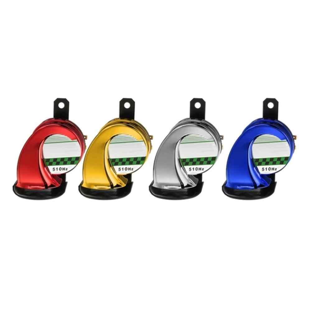 ggaggaa Sirena universal de bocina de coche de alta potencia de 12 v 130db Sirena de bocina de aire de caracol el/éctrico fuerte
