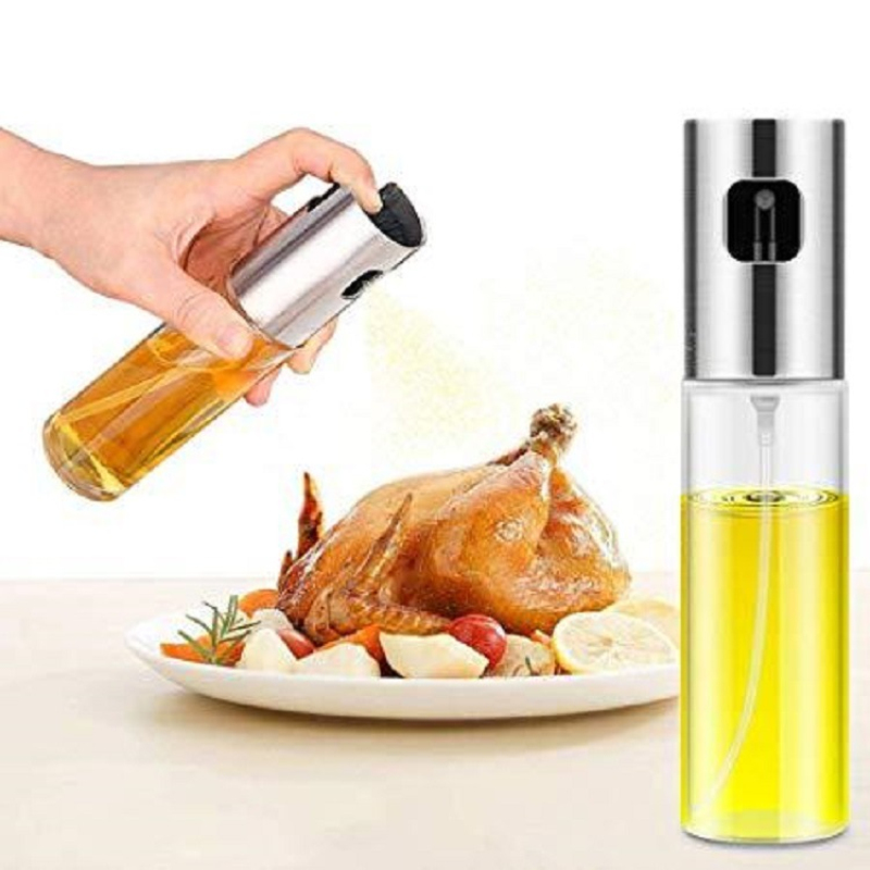 Spray Bottle Oil Sprayer Oiler Pot BBQ Barbecue Cooking Tool Can Pot Cookware Kitchen Tool ABS Olive Pump