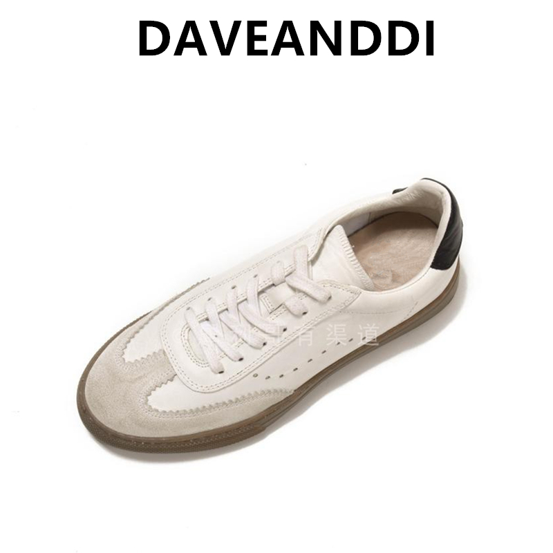 Dave&Di summer casual shoes women england style simple fashion splicing Sheep leather comfort shoes sneakers women shoes woman| |   - AliExpress