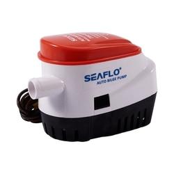 Automatyczna pompa zęzowa 12V 750Gph z wewnętrznym przełącznik pływakowy Auto łódka zatapialna pompa automatyczna z przełącznik pływakowy Marine / Bait