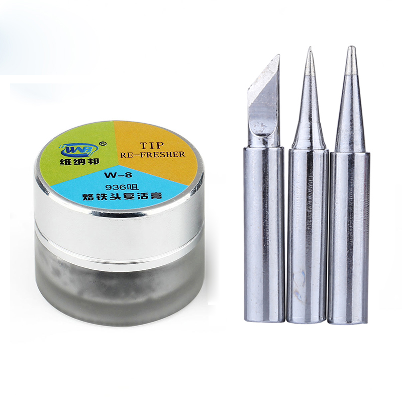 Lead-Free Electric Soldering Iron Tip Refresher Clean Paste For Oxide Solder Iron Tip Head Resurrection Cream Rework Accessory