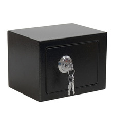 Safe-Box Cash Office Durable Strong Home Steel Black Jewelry Key-Operation Professional