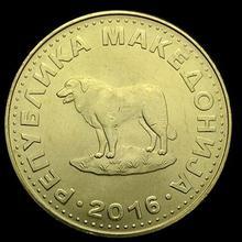 24 мм Македония, настоящая монета, оригинальная коллекция