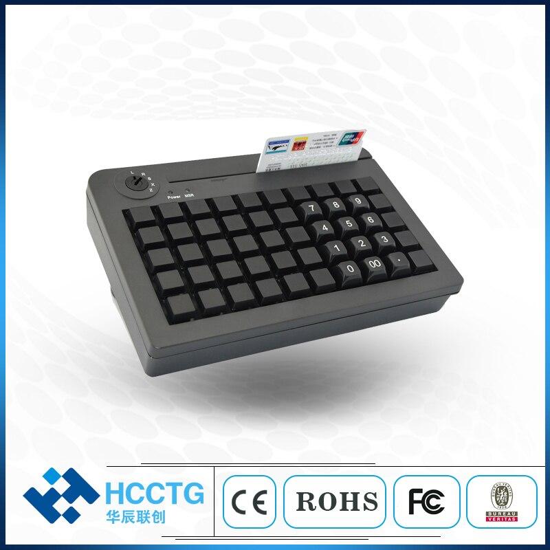 Mini clavier Programmable USB 50 touches avec Msr KB50M