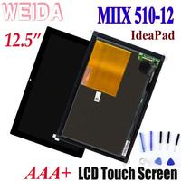 WEIDA LCD Replacement Parts 12.5 For Lenovo ideaPad MIIX 510 12 LCD Display Touch Screen Digitizer Assembly miix 510 12isk