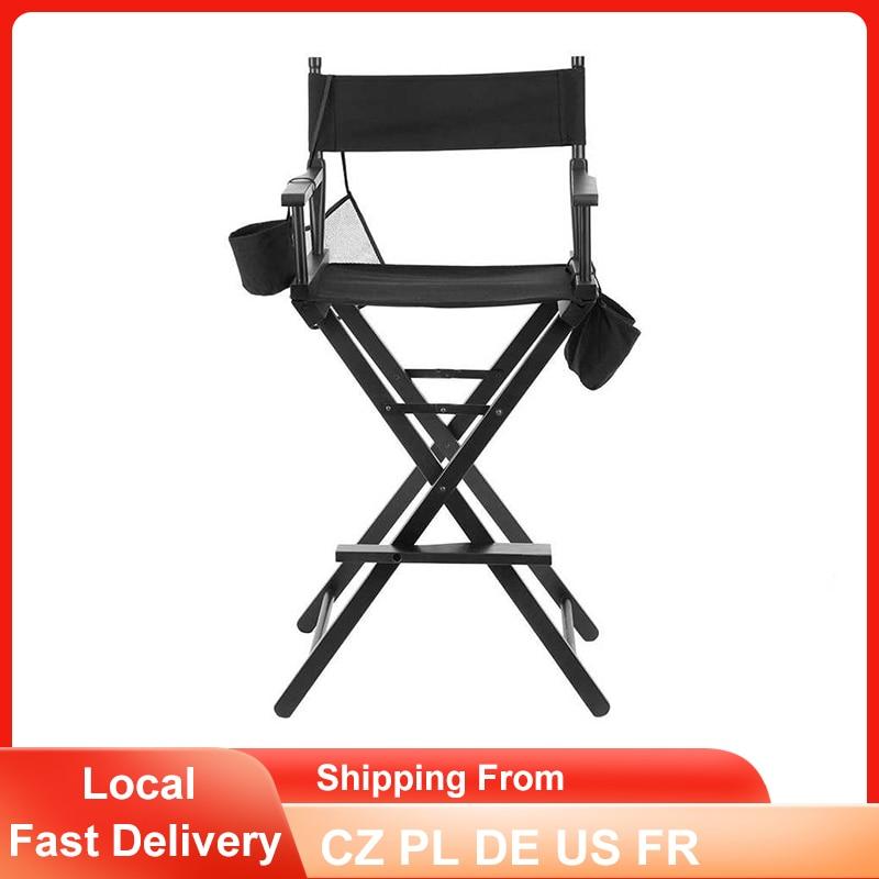 Professional Directors Chair Wood Lightweight Foldable Makeup Artist Directors Chair