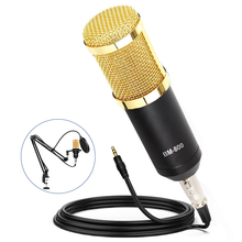 bm 800 Karaoke Condenser Microphone Kits bm800 Studio Microphone Phantom Power Audio Interface Sound Card for Computer Recording bm 800 studio condenser microphone v8 audio usb headset microphone smartphone sound card e300 wired for computer