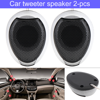 2Pcs/Lot Universal Car Tweeter Speakers 1000W High Efficiency Mini Dome Tweeter Speakers for Car Vehicle Auto Audio System image