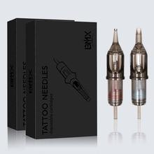 100pcs Hot Sale Disposable  Tattoo Cartridge Needles  Semi-Permanent Makeup Eyebrow Tattoo Pen Machine Supply RL/M1/RM/RS