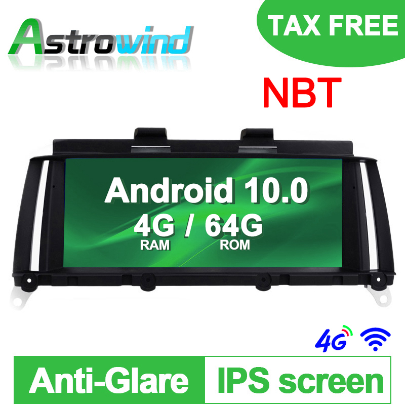 8.8 4G RAM 64G ROM 8 Core Android 10.0 Auto Player GPS Navigation System Media Stereo For BMW X3 F25 for BMW X4 F26 NBT image