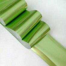 100 см матовый эффект дизайн ногтей Фольга модное в форме оливы