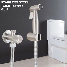 Bidet Toilet Set Handheld Hygienic Shower Sprayer Gun For Bathroom Self Cleaning Shower Head Toilet Spray phasat a2021 copper handheld bidet spray gun shower head silver