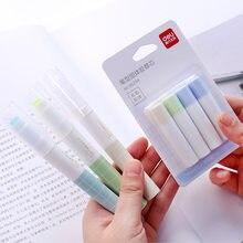 Colle solide 1 + 4, type de stylo, créatif, bureau, bâton de colle solide avec 4 pièces, recharges de colle manuelle de l'école primaire