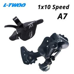 Ltwoo a7 1x10 10 desviadores de velocidade gatilho groupset 10 s 10v shifter alavanca traseira desviador interruptores compatíveis sram e shimano
