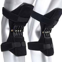 Support-Pads Booster Knee-Band Power for Lifts-Joint Rebounds Spring-Force Cold-Leg 1-Pair