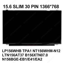 LAPTOP SCREEN 15.6 SLIM EDP PANEL 5-7548 15R-3542 G5-80 B50-40 EX2519 N15W4 F153 F1531 V5-571 R557L X504L V505L F554L MONITOR