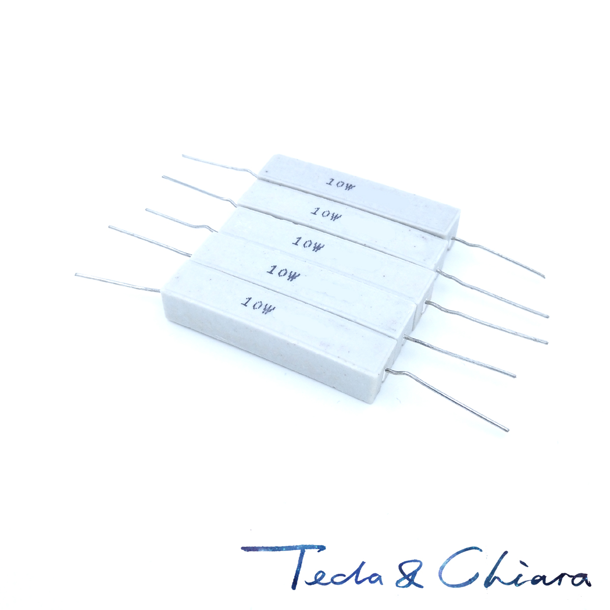 5 Resistance wire resistance cement THT 220Ohm 10W ± 5/% St