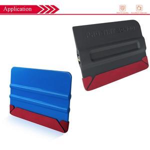 Image 5 - 10PCS Car Wrap Vinyl Suede Felt Cloth Film Edge Fabric For Card Squeegee Scraper Car Tools No Scratch Protector D26