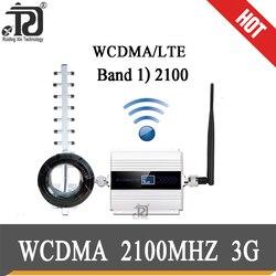 2100 (banda LTE 1) WCDMA UMTS 3G de amplificador de señal móvil 4g amplificador de señal 3G (HSPA) WCDMA 2100MHz 3g señal celular amplificador