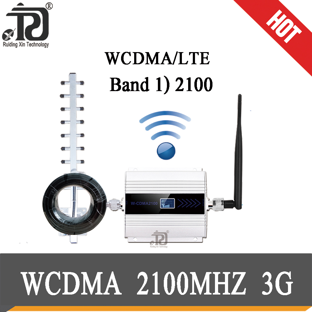 4g Signal Booster 2100 (LTE Band 1) WCDMA UMTS 3G Mobile Signal Booster 3G (HSPA) WCDMA 2100MHz 3g Signal Cellular Amplifier