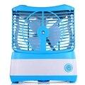 Увлажняющий вентилятор с распылительным охлаждением Usb Настольный маленький вентилятор кондиционера (синий)