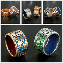 Женское кольцо ИЗ реверсивной кожи в римском стиле