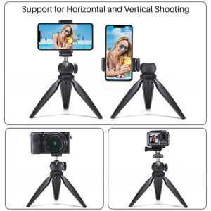 Image 4 - Mini trípode portátil con rotación de 360 grados, palo de Selfie para iPhone, Huawei, P30 Pro, GoPro Hero 7/6/5