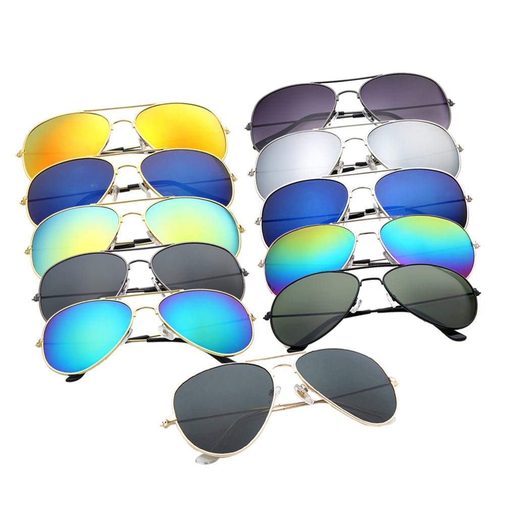 FOENIXSONG Vintage Pink Sunglasses For Women Pilot Classic Fashion Eyewear Gradient Mirrored Lens Men Sun Glasses Oculos