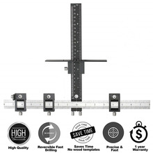 Detachable Hole Punch Jig Tool Center Drill Bit Guide Set Sl