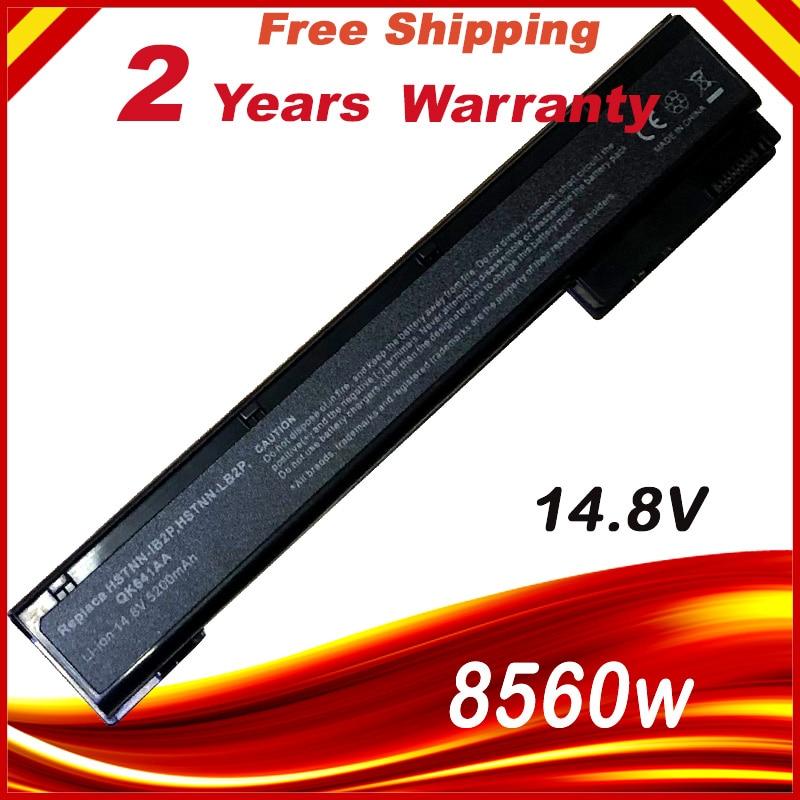 14.8V VH08XL Battery For HP EliteBook 8560w 8570w 8760w 8770w 632425-001 632427-001 HSTNN-IB2Q HSTNN-F13C HSTNN-LB2Q