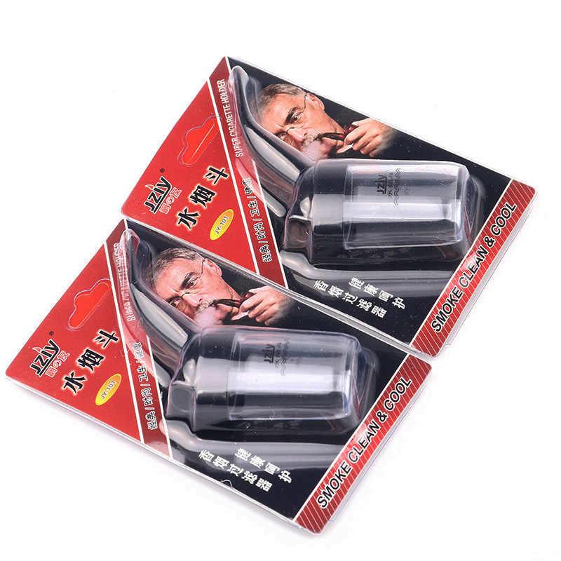 Fajka dymna Pipas krążący Mini szisza zakrzywiony filtr rurowy fajka wodna męska uchwyt na papierosy akcesoria do palenia