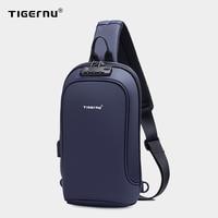 2021 neue Tigernu Mode Stil Männer Taschen Casual Splash Brust Taschen Hohe Qualität Umhängetaschen Männlichen Reise Schlinge Taschen Für männer