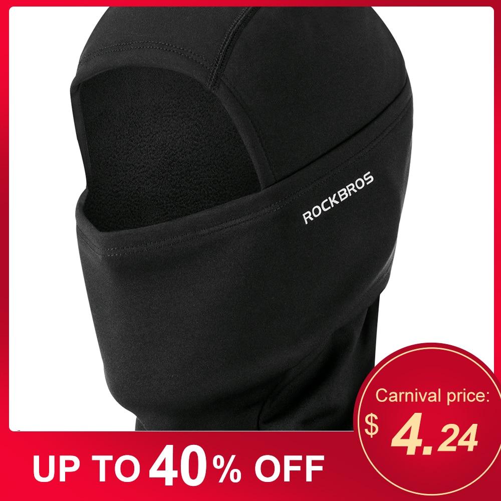 Outdoor Warm Full Face Mask Windproof Fleece Lining Balaclava Cycling Hood Liner Skiing Snowboarding Shield Helmet Liner