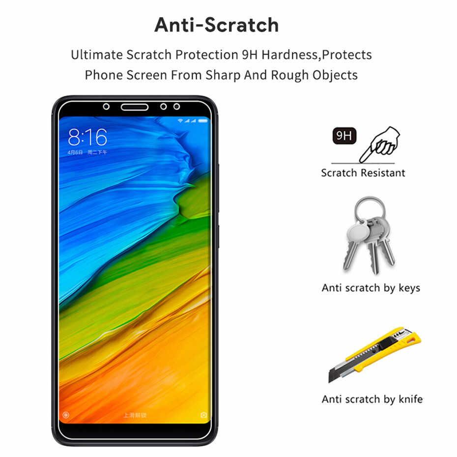Kaca Pelindung Di untuk Xiaomi Redmi 4A 4X5 Plus 5A S2 6 6A Note 4 4X5 6 Pro Ponsel Screen Protector Tempered Kaca Film